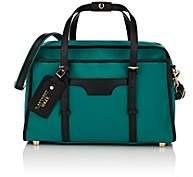 Anthony Logistics For Men T. Men's Leather-Trimmed Canvas Tote Bag - Green