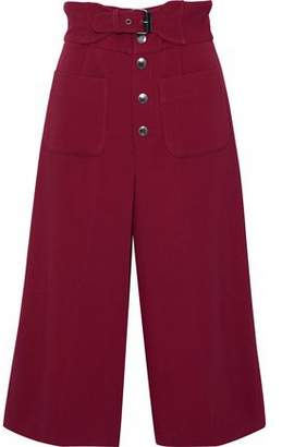 RED Valentino Belted Crepe Culottes