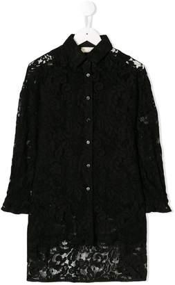 MonnaLisa lace shirt dress