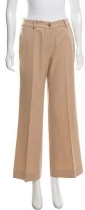 Leonard Wool Mid-Rise Pants