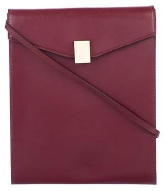 Victoria Beckham Postino Leather Crossbody Bag