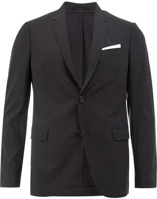 Neil Barrett pocket square blazer