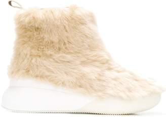 Stella McCartney faux-fur ankle boots