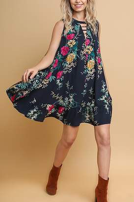 Umgee USA Tropical Swing Dress