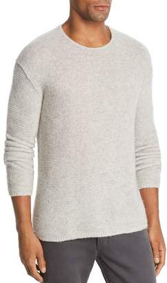 John Varvatos Collection Tuck Cashmere & Silk Garter-Stitch Sweater