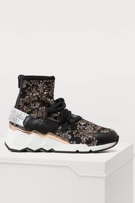 Pierre Hardy Trek Comet jacquard sneakers