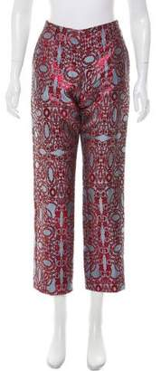 Dries Van Noten Paola Mid-Rise Pants w/ Tags