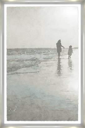 Soft Surroundings Children at the Shore Framed Art
