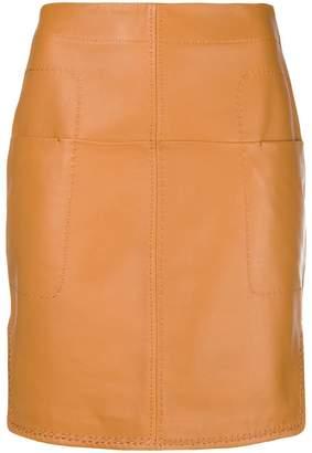 Carven short fitted skirt