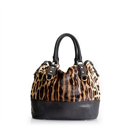 Marlow hobo in Italian calf hair