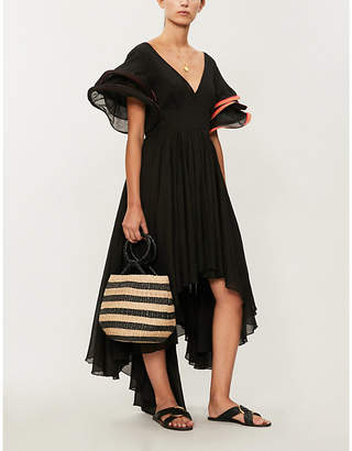Pitusa Multi Flare cotton-voile dress