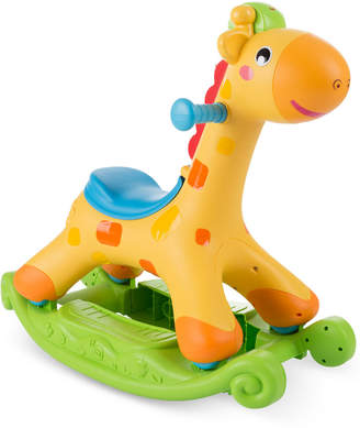 Trademark Global Happy Trails Rocking/Roll & Push Ride-On Horse with Lights & Sounds