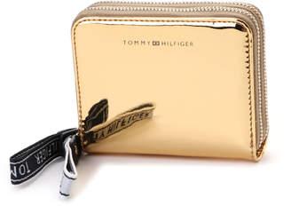 Tommy Hilfiger (トミー ヒルフィガー) - トミーヒルフィガー TOMMY HILFIGER アイコニックメタリックジップパース