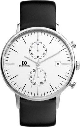 Danish Design (ダニッシュ デザイン) - デンマークデザインiq12q975メンズ2つダイヤルクロノグラフブラックウォッチ