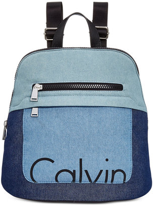Calvin Klein Small Backpack $168 thestylecure.com