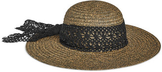 Collection XIIX Crochet Band Floppy Hat $28 thestylecure.com