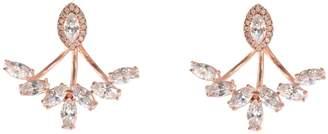Wild Hearts - Petal Ear Jackets Rose Gold