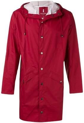 Rains water-resistant hooded coat