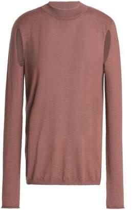 Rick Owens Cutout Cashmere Sweater