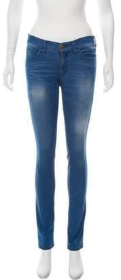 Lanvin Low-Rise Straight-Leg Jeans