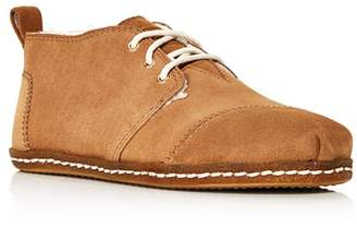 Toms Women's Bota Suede Lace-Up Boots