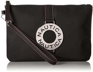 Nautica Ladies That Sail Flat Wristlet Wallet Clutch with Rfid Blocking