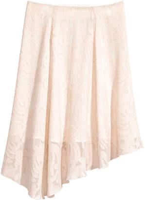 H&M Silk-blend skirt