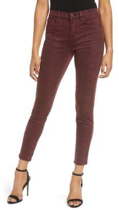 Blank NYC Blanknyc Snake Print Skinny Jeans