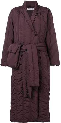 Henrik Vibskov Pipe quilted shell coat