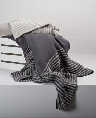 "Berkshire 50"" x 70"" Stripe Knit Throw"