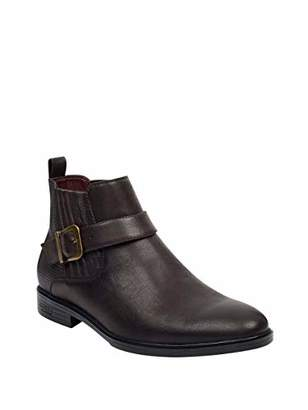 GUESS Men's CORIO Chelsea Boot Brown