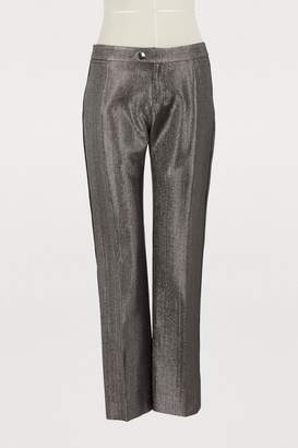 Chloé Lame trousers