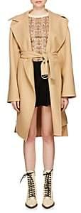 Chloé Women's Double-Faced Wool Melton Coat - Lt. brown