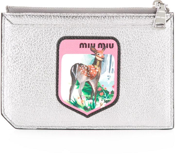 Miu MiuMiu Miu zipped purse