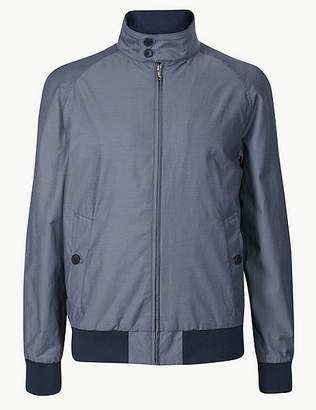 "Marks and Spencer Cotton Blend Jacket with Stormwearâ""¢"
