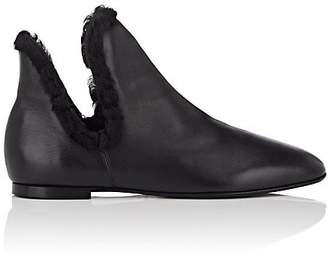 The Row Women's Eros Leather Ankle Boots