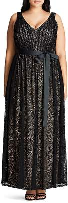 City Chic Lace Maxi Dress $149 thestylecure.com