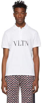 Valentino White VLTN Polo