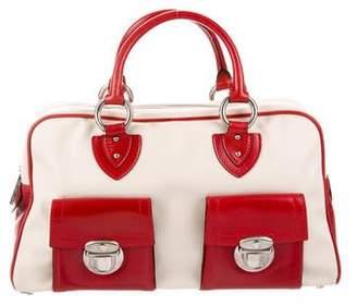 Marc Jacobs Leather-Trim Handle Bag