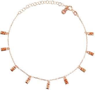 Rosegold Latelita - Champagne Baguette Gemstone Bracelet