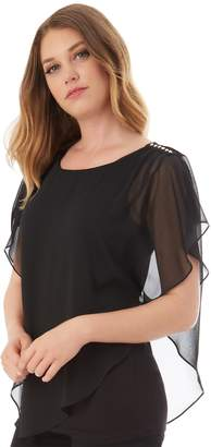 Apt. 9 Women's Asymmetrical Popover Top