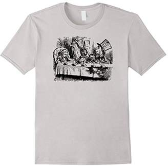 Big Texas Alice in Wonderland Mad Hatters Tea Party T-Shirt