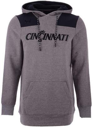 Under Armour Men's Cincinnati Bearcats Threadborne Fleece Hoodie