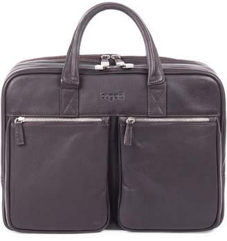 Bugatti Sartoria Large Zipper Leather Briefcase
