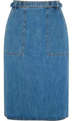 MiH Jeans Juno Belted Denim Skirt