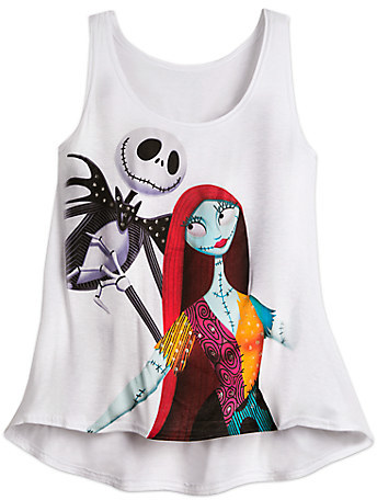 Jack Skellington and Sally Tank Tee for Women