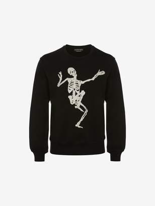 Alexander McQueen Dancing Skeleton Sweatshirt