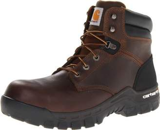 "Carhartt Men's 6"" Rugged Flex Waterproof Breathable Composite Toe Leather Work Boot CMF6366"