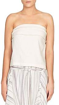 Camilla And Marc C & M Mylar Strapless Top