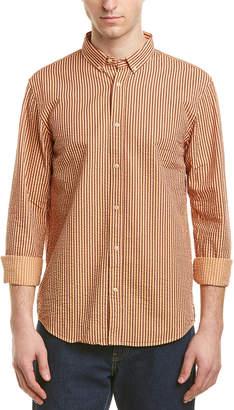 Scotch & Soda Regular Fit Seersucker Woven Shirt